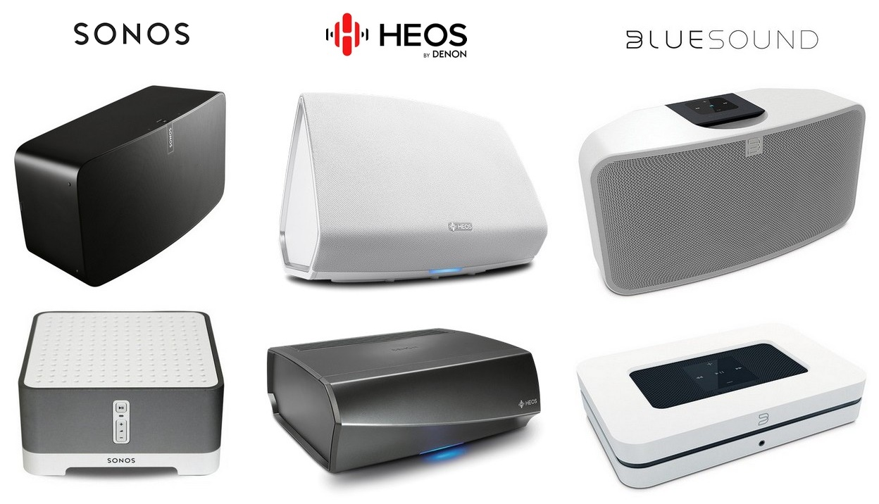 SONOS vs HEOS vs BLUESOUND